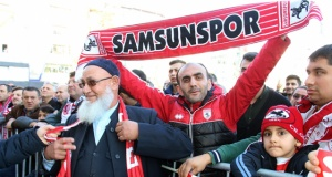 Samsunspor Meydana Akın Etti