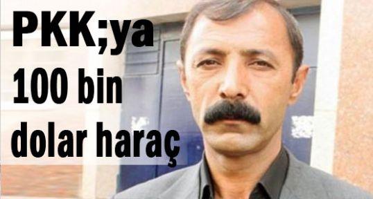 100 bin doları PKK'ya verecekti