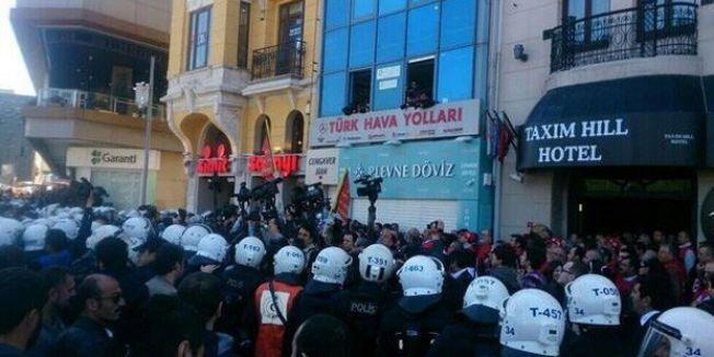 1 Mayıs açıklamasına polis engeli