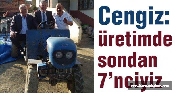 Ayhan Cengiz, Ayvacık'ta MHP'nin Tarım Politikalarını Anlattı