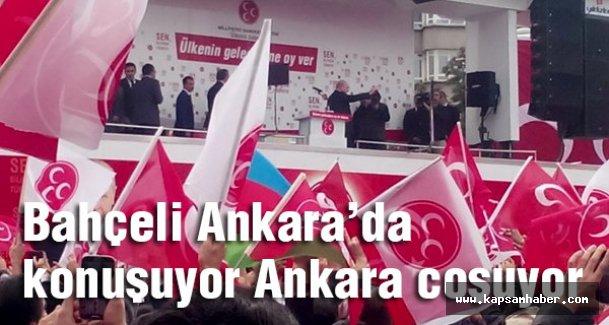 Bahçeli Ankara'da konuşuyor