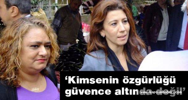 CHP'li  Sabuncu: Kimsenin özgürlüğü güvence altında değil