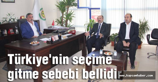 Erhan Usta; Türkiye'nin seçime gitme sebebi bellidir.