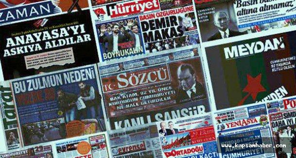 İpek Grubuna yapılan Baskın Gazete Manşetlerinde...