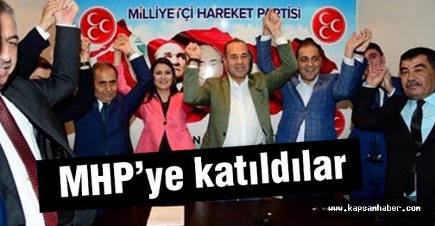 İstifa ettiler, MHP'ye katıldılar