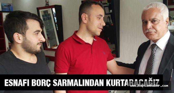 Koray Aydın: MHP Esnaf için borç sarmalından çıkış projesi hazırladı