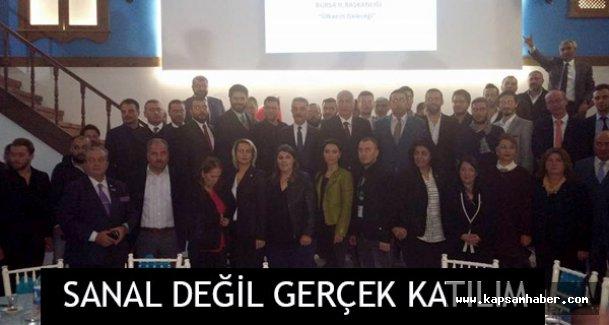 'MHP'ye Sanal Değil Gerçek Katılım'