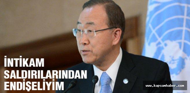 Ban Ki-mun, Müslümanlara intikam saldırılarından endişeliyim