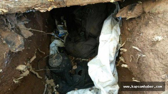 Bingöl'de PKK'ya ait sığınak bulundu
