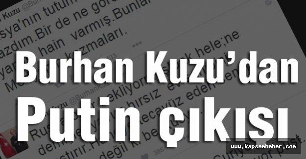 Burhan Kuzu,Twitter'i yine salladı...