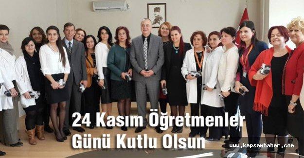 Cengiz Ergün: 24 Kasım Öğretmenler Günü Kutlu Olsun