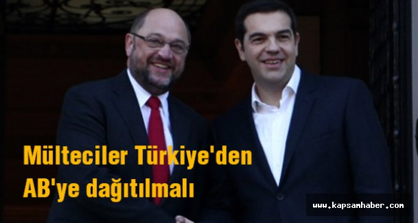 Çipras: Mülteciler Türkiye'den AB'ye dağıtılmalı