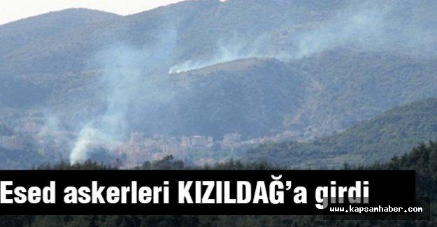Esed Askerleri Kızıldağ'a  girdi
