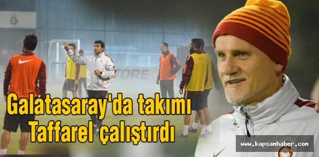 Galatasaray'da takımı Taffarel çalıştırdı