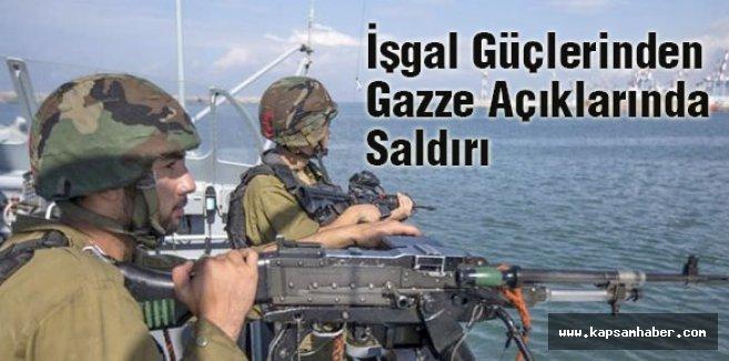 İşgal Güçleri Gazzeli Balıkçılara Otomatik Silahla Saldırıyor
