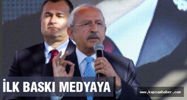 Kılıçdaroğlu: Daha yemin edilmeden İlk Baskı Medyaya