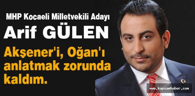 MHP Adayından itiraf: Akşener'i, Oğan'ı anlatmak zorunda kaldım.