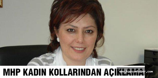 MHP Kadın Kollarından Basın Açıklaması