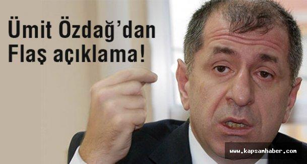 MHP'li Özdag'dan Açıklama