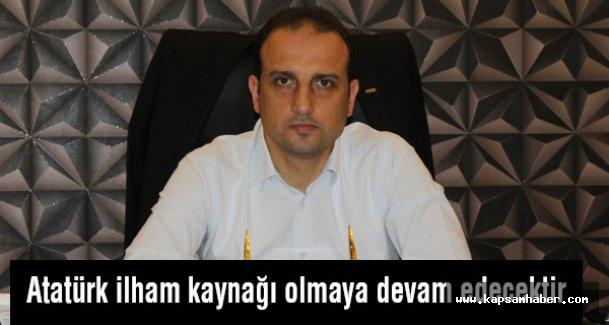 MHP'li Süslü: Atatürk ilham kaynağı olmaya devam edecektir