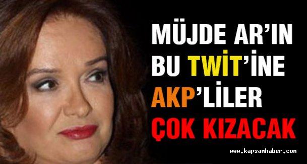 Müjde Ar'ın bu yorumu AKP'lileri çok kızdıracak