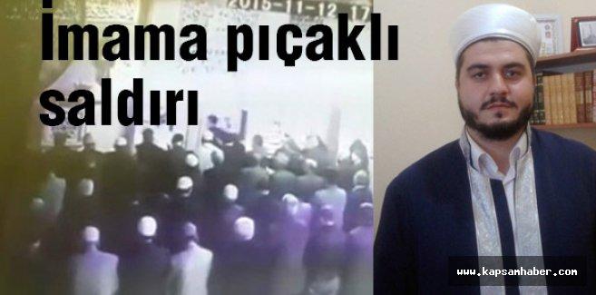 Namaz kıldıran imama bıçaklı saldırı