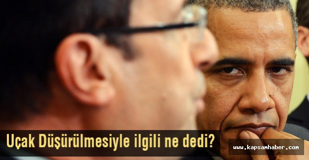 Obama, Uçak Düşürülmesiyle İlgili Ne Dedi?