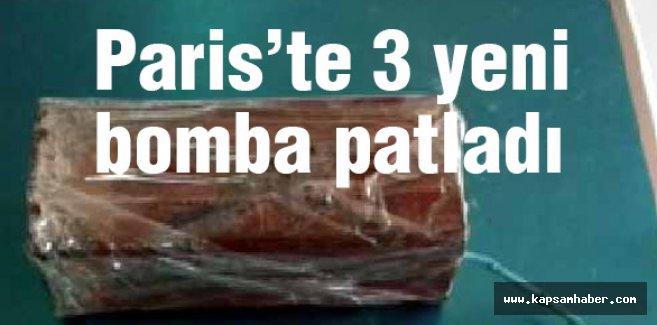 Paris'in 3 yerinde bomba patladı