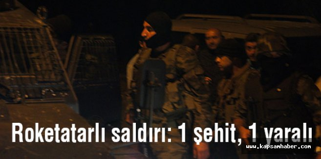 PKK, Roketatarlı saldırıda bulundu