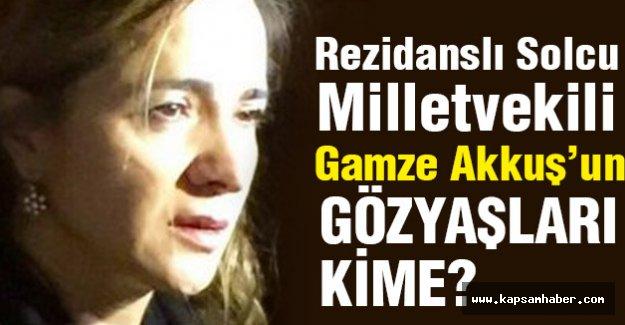 Rezidanslı Solcu Milletvekili PKK Cenazesinde Gözyaşı Döktü