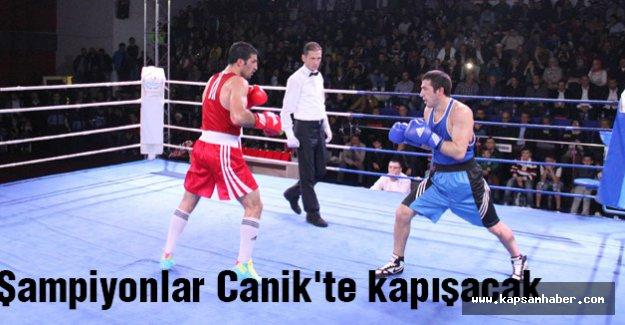 Şampiyonlar Canik'te kapışacak