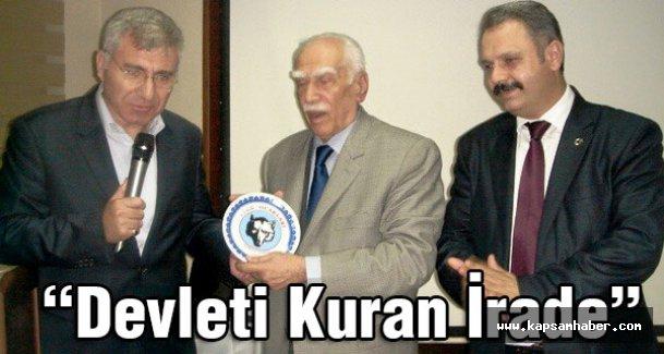 Samsun Türk Ocağı'ndan ' Devleti Kuran İrade' Konferansı