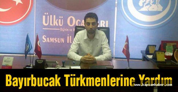Samsun Ülkü Ocaklarından Bayırbucak Türkmenlerine Yardım