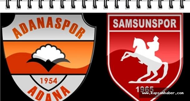 Samsunspor: 2 - Adanaspor: 1