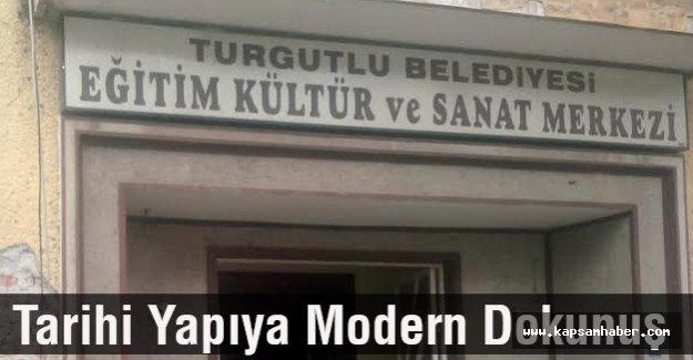 Tarihi Yapıya Modern Dokunuş