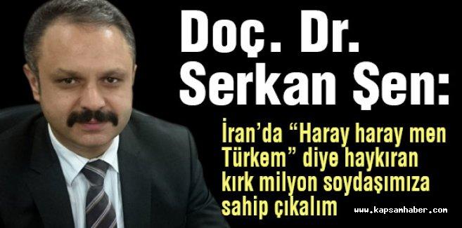 Türk Ocağı Başkanı Serkan Şen: Soydaşımıza Sahip Çıkalım