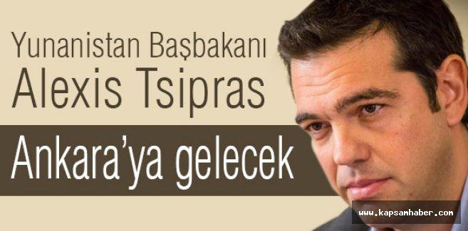 Yunanistan Başbakan'ı Tsipras, Türkiye'ye Geliyor