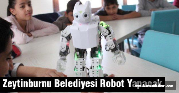 Zeytinburnu Belediyesi Robot Yapacak