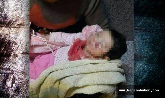 3 aylık bebek ile dedesi öldü!