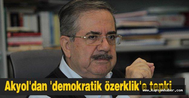 Akyol: HDP, demokrasiyi değil, Kandil'in güdümünü seçti.