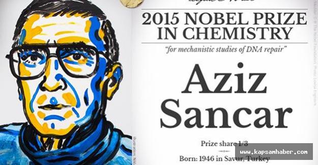 Aziz Sancar Nobel Kimya Ödülü'nü Aldı