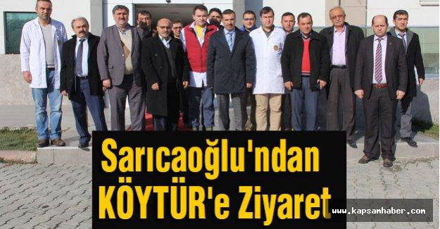 Başkan Sarıcaoğlu'ndan KÖYTÜR'e Ziyaret