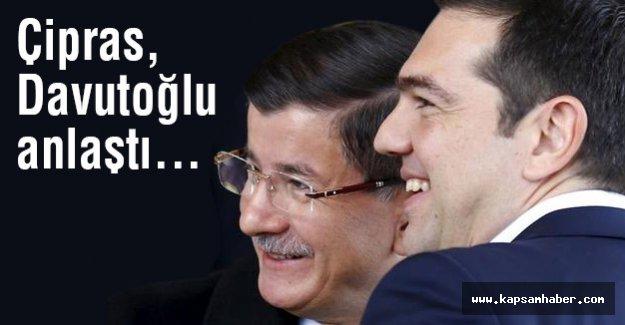 Çipras, Davutoğlu'yla anlaştı...