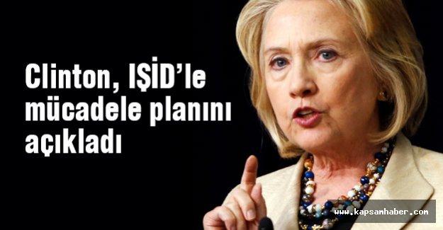 Clinton, IŞİD'le mücadele planını açıkladı
