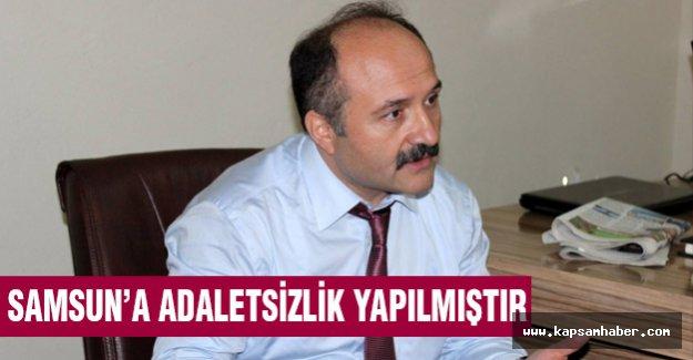 Erhan Usta: Samsun'a Adaletsizlik Yapılmıştır...