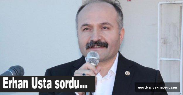 Erhan USTA'dan Mecliste Samsun Bombardımanı…!!!