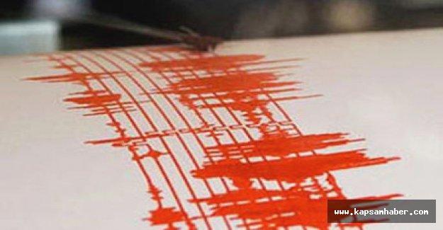 Gemlik Körfezi'nde Deprem