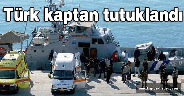 Göçmen faicasında Türk kaptan tutuklandı