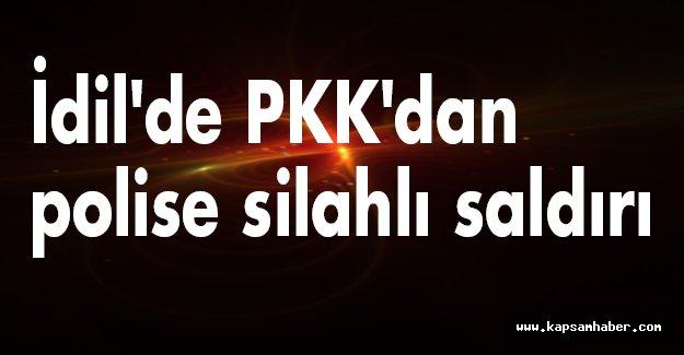 İdil'de Polise Saldırı!
