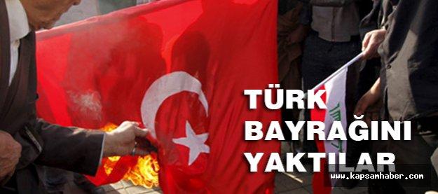 Irak Halkı Kışkırtıldı; Türk Bayrağı Yakıldı...